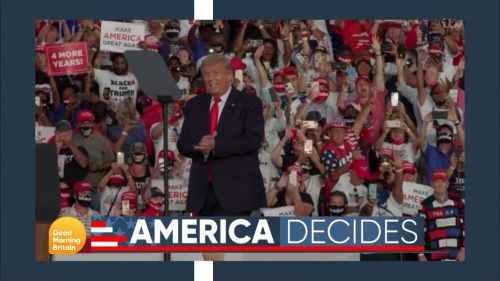 Good Morning Britain - US Election 2020 Coverage (10)