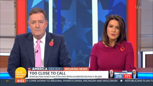 Good Morning Britain - US Election 2020 Coverage (29)