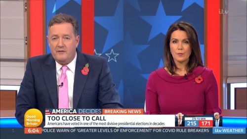 Good Morning Britain - US Election 2020 Coverage (30)