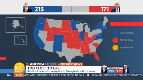 Good Morning Britain - US Election 2020 Coverage (33)