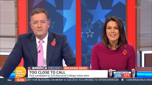 Good Morning Britain - US Election 2020 Coverage (34)