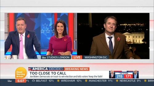 Good Morning Britain - US Election 2020 Coverage (35)