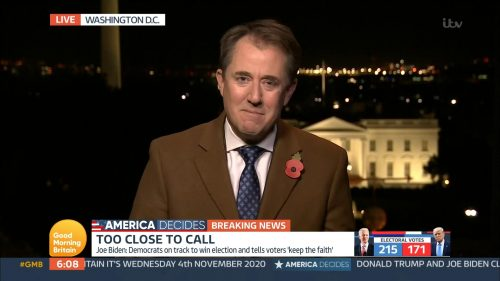 Good Morning Britain - US Election 2020 Coverage (37)