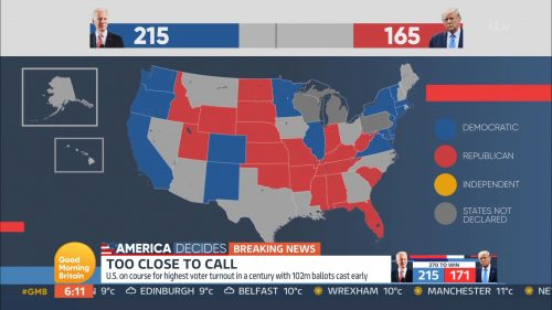 Good Morning Britain - US Election 2020 Coverage (38)