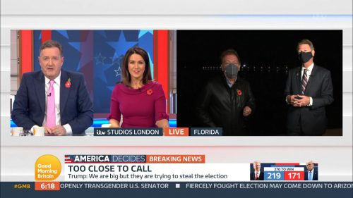 Good Morning Britain - US Election 2020 Coverage (42)