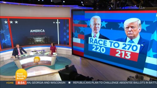 Good Morning Britain - US Election 2020 Coverage (46)