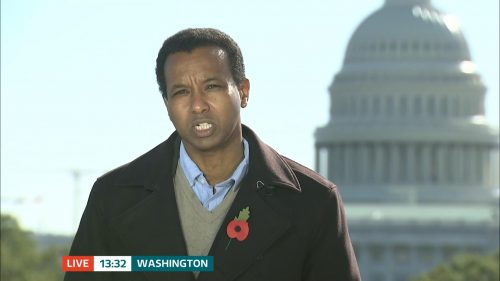 ITV Evening News from America on Election Day (2)