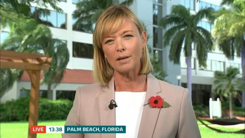 ITV Evening News from America on Election Day (5)
