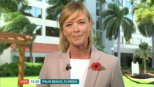 ITV Evening News from America on Election Day (6)