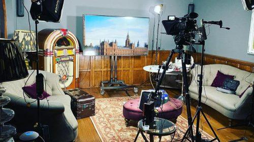 Kay Burley's Home Setup