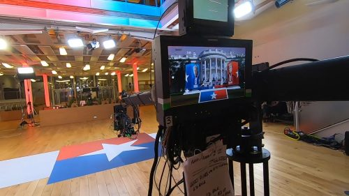Sky News Behind the Scenes of US Election 2020