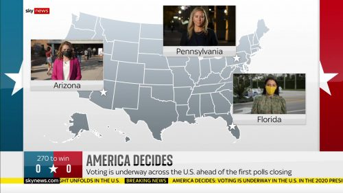 Sky News - US Election 2020 Coverage (1)