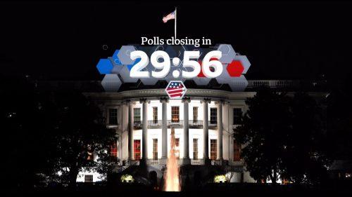 US Election 2020 - BBC News Coverage (1)