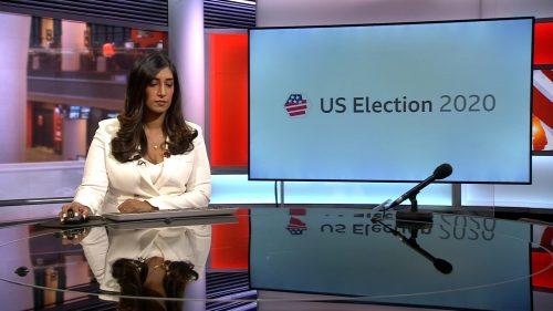 US Election 2020 - BBC News Coverage (13)