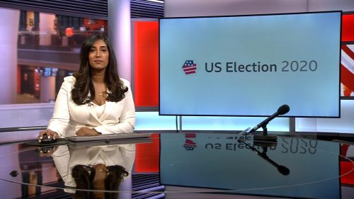 US Election 2020 - BBC News Coverage (14)