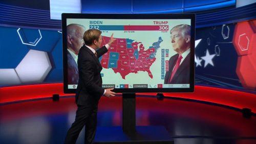 US Election 2020 - BBC News Coverage (18)