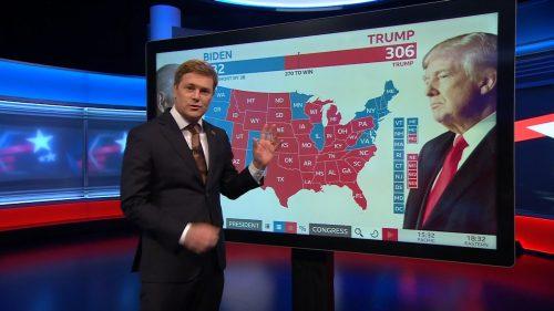 US Election 2020 - BBC News Coverage (19)