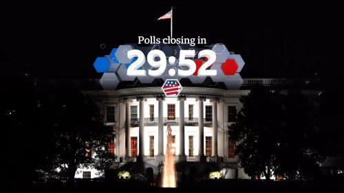 US Election 2020 - BBC News Coverage (2)