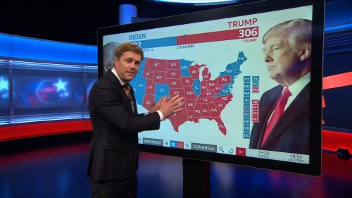 US Election 2020 - BBC News Coverage (20)