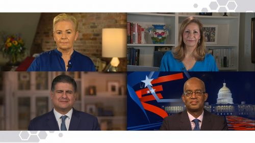 US Election 2020 - BBC News Coverage (22)
