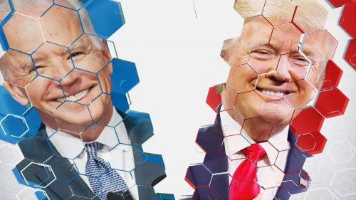 US Election 2020 - BBC News Coverage (29)