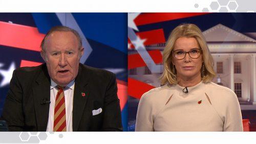 US Election 2020 - BBC News Coverage (3)