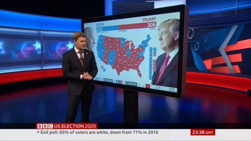 US Election 2020 - BBC News Coverage (36)