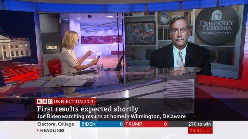 US Election 2020 - BBC News Coverage (40)