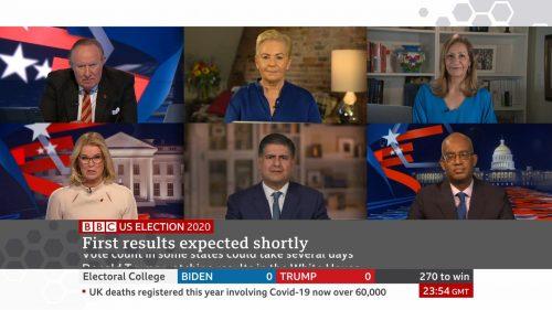 US Election 2020 - BBC News Coverage (44)