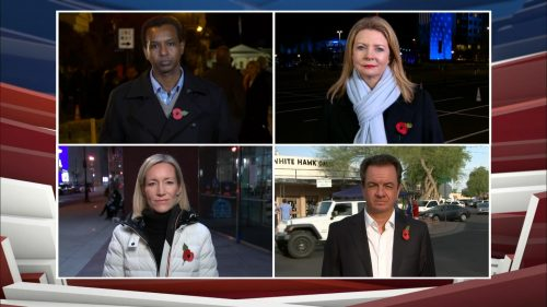 US Election 2020 - ITV News Coverage (11)
