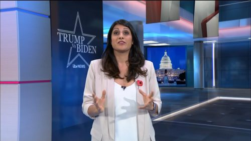 US Election 2020 - ITV News Coverage (14)