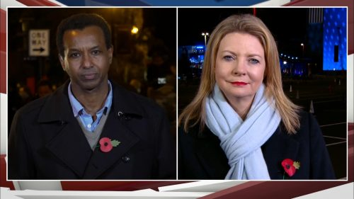 US Election 2020 - ITV News Coverage (22)