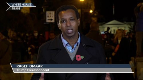 US Election 2020 - ITV News Coverage (24)