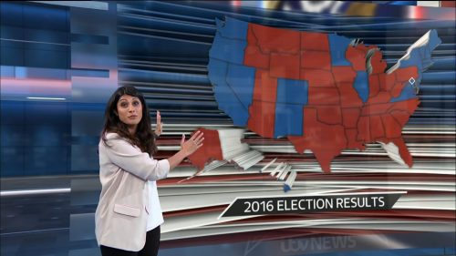 US Election 2020 - ITV News Coverage (30)