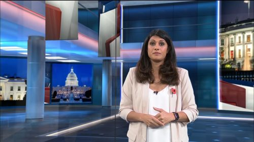 US Election 2020 - ITV News Coverage (34)