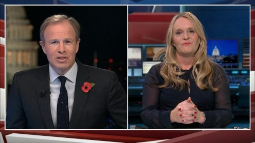 US Election 2020 - ITV News Coverage (35)