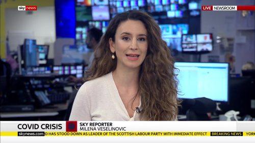 Milena Vesekinovic - Sky News Reporter (2)