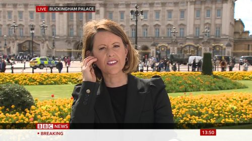 Prince Philip Dies - BBC News Coverage (1)