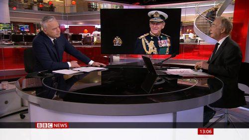 Prince Philip Dies - BBC News Coverage (11)