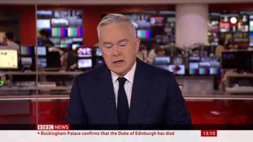 Prince Philip Dies - BBC News Coverage (14)