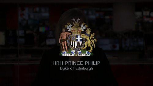 Prince Philip Dies - BBC News Coverage (5)