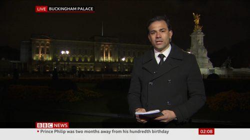 Prince Philip Dies - BBC News Coverage (8)