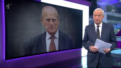 Prince Philip Dies - Channel 4 News (5)