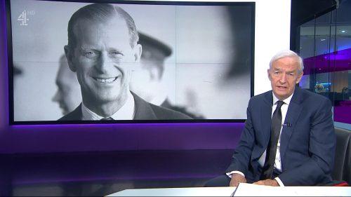 Prince Philip Dies - Channel 4 News (7)