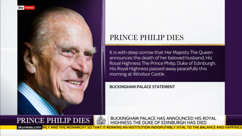 Prince Philip Dies - Sky News (10)