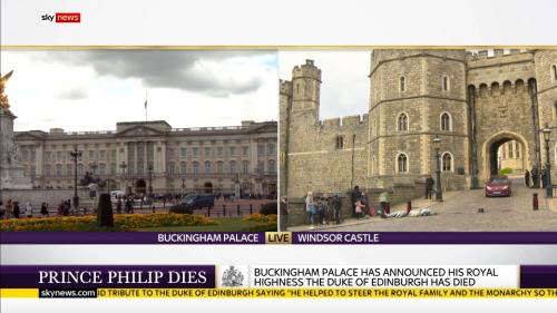 Prince Philip Dies - Sky News (11)