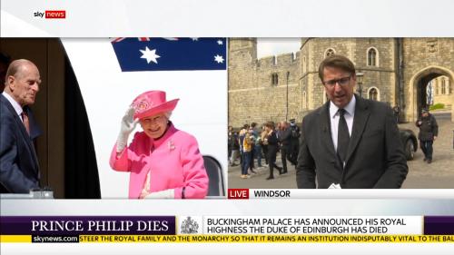 Prince Philip Dies - Sky News (14)