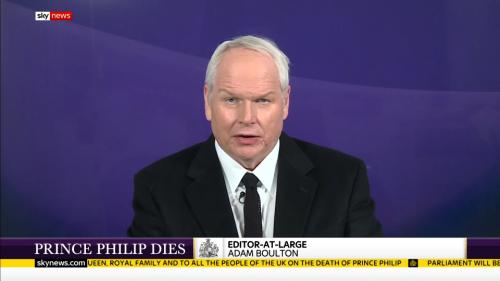 Prince Philip Dies - Sky News (2)