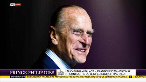 Prince Philip Dies - Sky News (4)