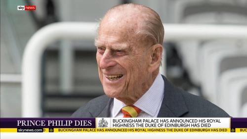 Prince Philip Dies - Sky News (9)